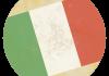 Selección de fútbol de Italia - Bandera - Mundial 2014 Brasil - FÚTBOLSELECCIÓN