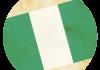 Selección de fútbol de Nigeria - Bandera - Mundial 2014 Brasil - FÚTBOLSELECCIÓN