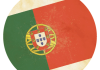 Selección de fútbol de Portugal - Bandera - Mundial 2014 Brasil - FÚTBOLSELECCIÓN