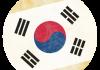 Selección de fútbol de República de Corea - Bandera - Mundial 2014 Brasil - FÚTBOLSELECCIÓN