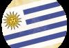 Selección de fútbol de Uruguay - Bandera - Mundial 2014 Brasil - FÚTBOLSELECCIÓN